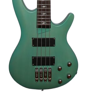 Fishbone PB4 ELDC 4 String Bass Green Mate Transparent Awesome bass Guitar