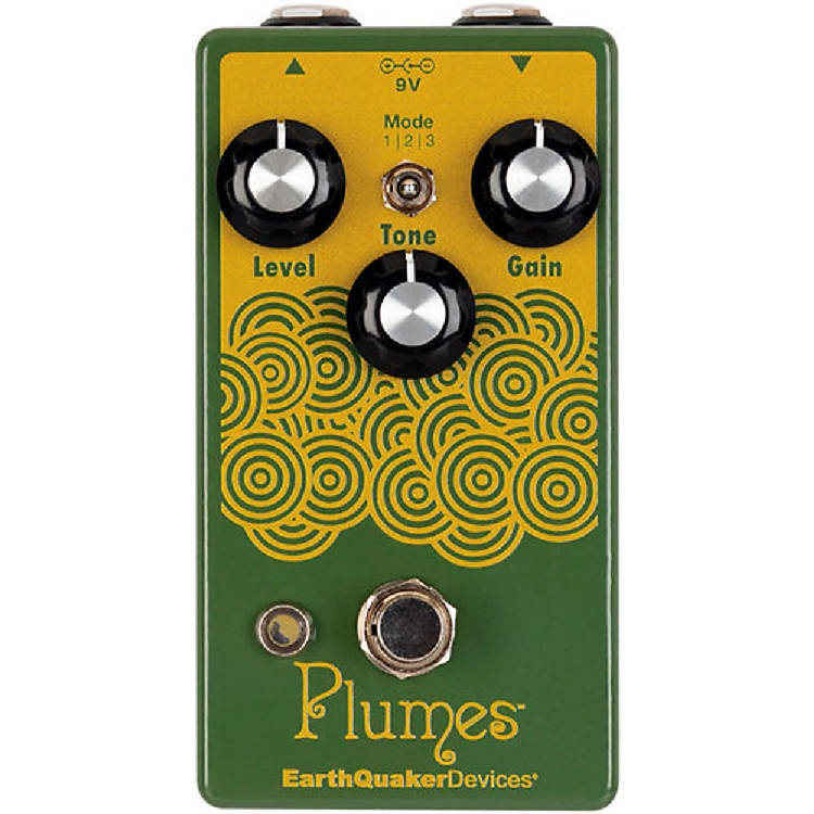 EarthQuaker Devices Plumes Small Signal Shredder Overdrive  *Free Shipping in the USA*