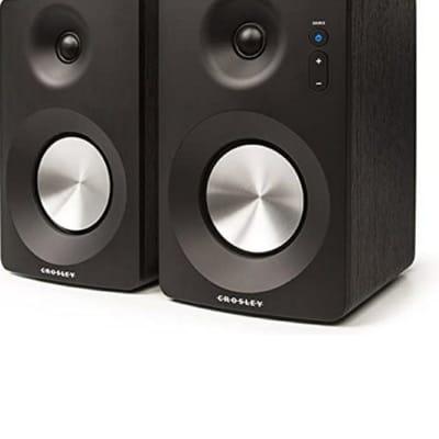Crosley  S100A-BK 2017 Black Speakers, with Bluetooth Capabilities