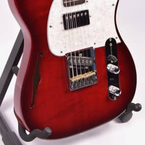 G&L Tribute ASAT Bluesboy Semi-Hollow, Red Burst for sale