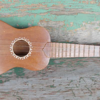 Regal Soprano Ukulele 1930s natural mahogany for sale
