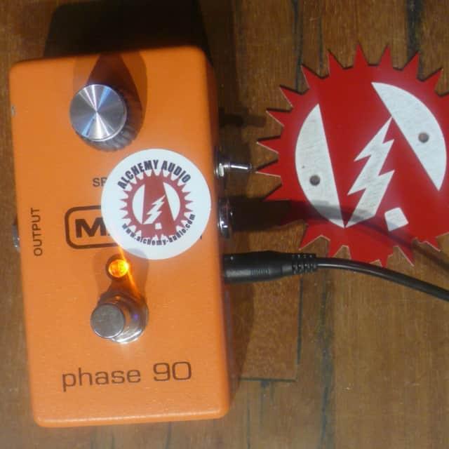 MXR Phase 90 Script + Tremolo Modified Guitar Effects Pedal Alchemy Audio image
