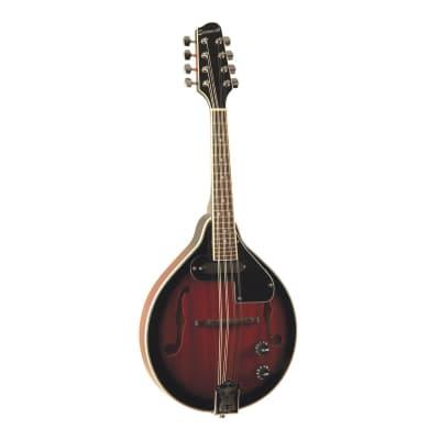 Savannah  SA-115-E A-Model Electric Mandolin, Mahogany for sale