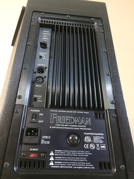 friedman asm 12 amp like powered speaker for kemper fractal reverb. Black Bedroom Furniture Sets. Home Design Ideas