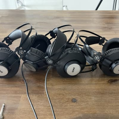 AKG K72 Closed-back Studio Monitoring Headphone Lot Of 4