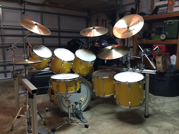 Early 80s Pearl 7 Piece Drum Kit
