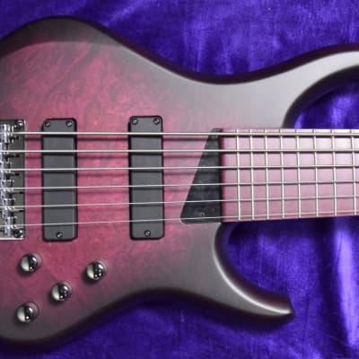 MTD Kingston Andrew Gouche Sign. (6-String), Plum Burst w/ Purpleheart Fingerboard for sale
