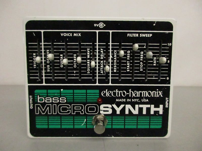 electro harmonix bass micro synth mcbride music pawn reverb. Black Bedroom Furniture Sets. Home Design Ideas