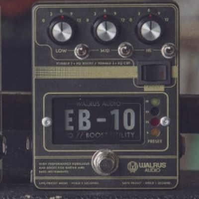 Walrus Audio EB-10 EQ Boost, Black for sale