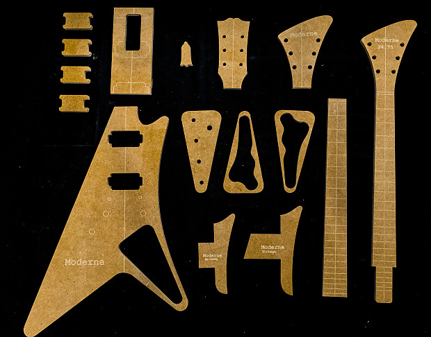 Guitar Templates ~ Moderne ~ 1/2\