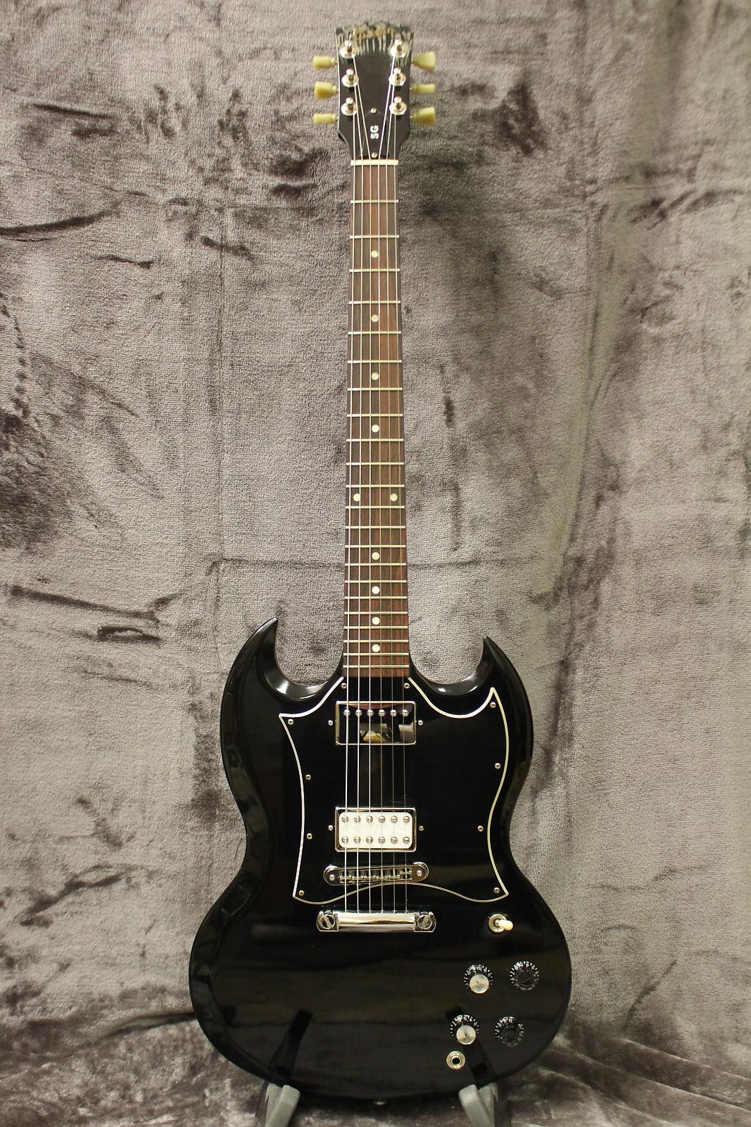Gibson SG Special 2006 Ebony with non-original Hard Shell Case