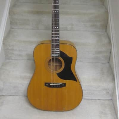 Goya MIJ  G-375 1980's maple acoustic guitar-rare,beautiful for sale