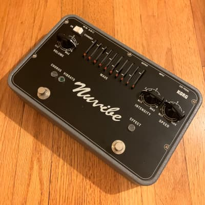 Korg Nuvibe Vibrato Chorus Effect pedal univibe Hendrix rare pedal