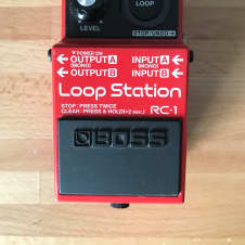 Boss RC-1 Loop Station 2010's Red