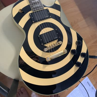 Epiphone Zakk Wylde Les Paul Custom Crazy Mint condition / Worldwide free shipping for sale
