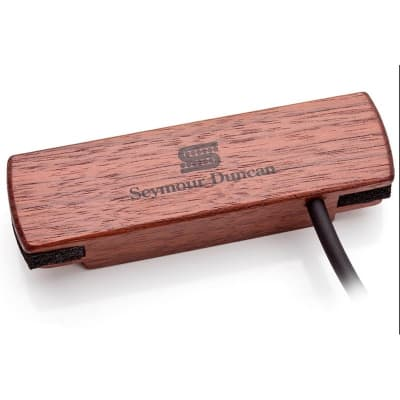 Seymour Duncan SA-3SC Woody Single Coil Soundhole Pickup, Walnut for sale
