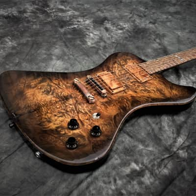 Phoenix Custom Guitar Black Diamond USA Cocoa burst/blk Artisan Handcrafted oneof for sale