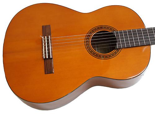 Yamaha cg 111s solid top classical guitar natual reverb for Yamaha solid top