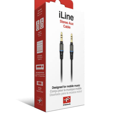 NEW IK MULTIMEDIA iLine Stereo Aux Cable