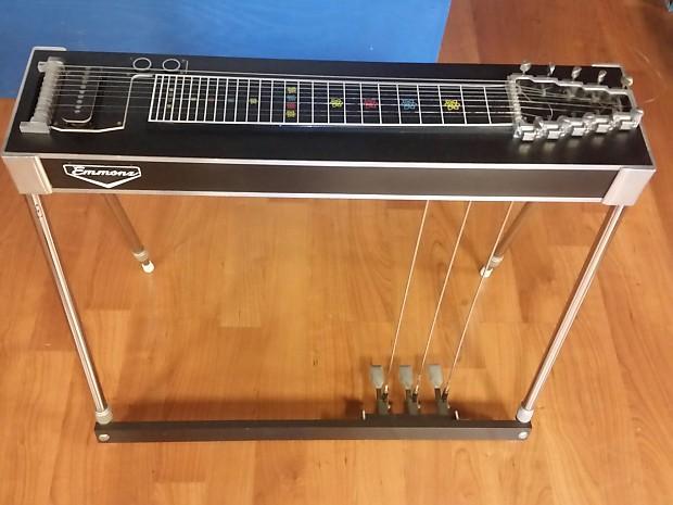 emmons black rock s10 pedal steel guitar late 60 39 s reverb. Black Bedroom Furniture Sets. Home Design Ideas