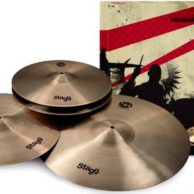 Stagg SH Series, Regular finish, Matched Cymbal Set