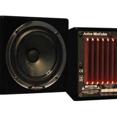 Avantone MixCubes Active Reference Monitor PAIR - Black