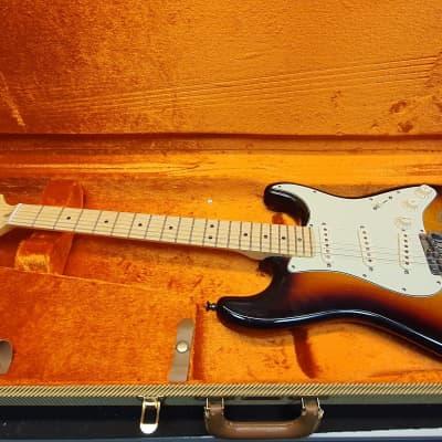 Fender American Deluxe Stratocaster 2010 3-Color Sunburst for sale