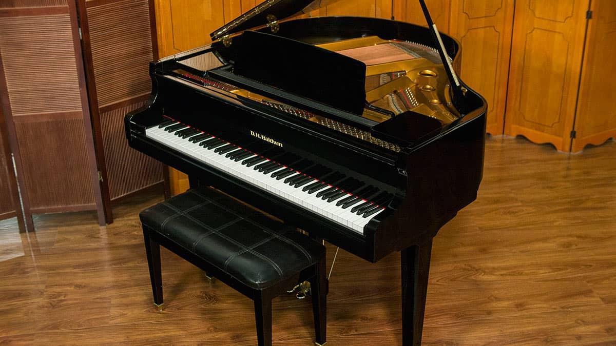 Dh Baldwin Model C142 Baby Grand Piano Made In Korea