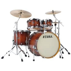 "Tama VP52KRSABR Silverstar 10/12/16/22/5x14"" 5pc Birch Shell Pack"