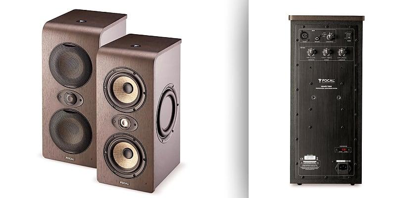 focal shape twin pair pro audio design reverb. Black Bedroom Furniture Sets. Home Design Ideas