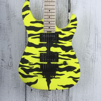 Charvel Satchel Signature Pro Mod DK Electric Guitar Floyd Rose Yellow Bengal for sale