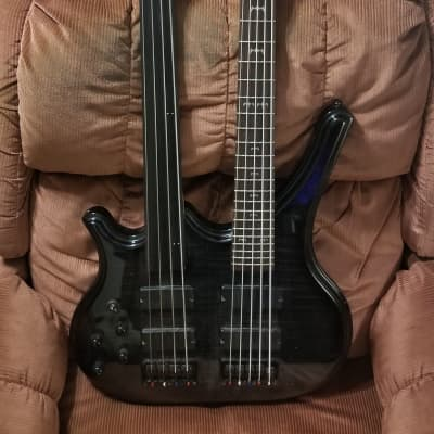 Galveston Double Neck bass left handed for sale