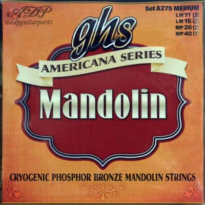 GHS Mandolin Strings Medium Phosphor Bronze American series LoopEnd A275