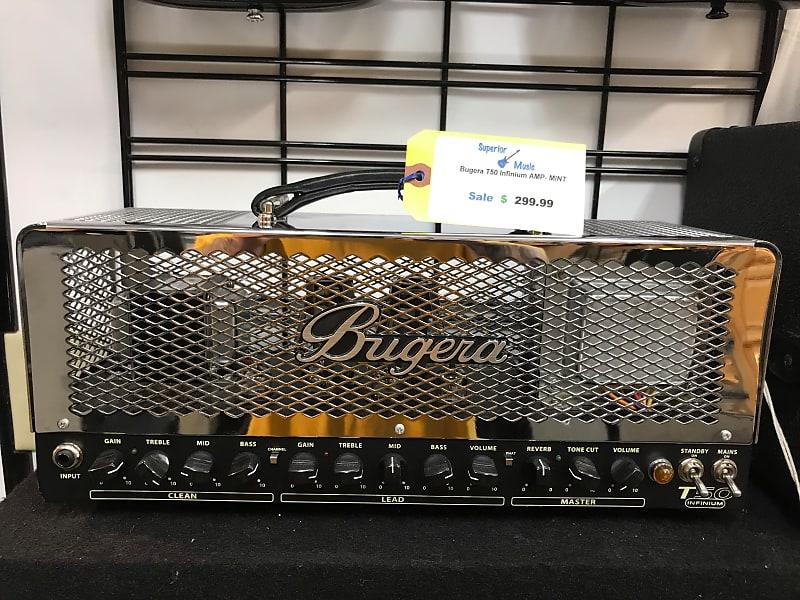 bugera t50 infinium tube amp from superior music reverb. Black Bedroom Furniture Sets. Home Design Ideas