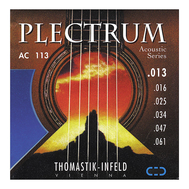 thomastik infeld ac113 acoustic guitar strings plectrum reverb. Black Bedroom Furniture Sets. Home Design Ideas