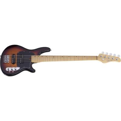 Schecter CV-5 Bass, 5-String, 3-Tone Sunburst for sale