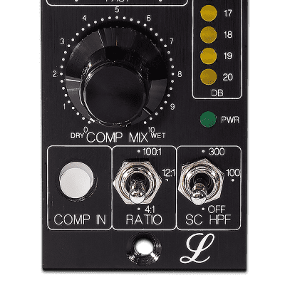 New Lindell Audio 7X500VIN - 500 Series Vintage Edition FET Compressor / Limiter