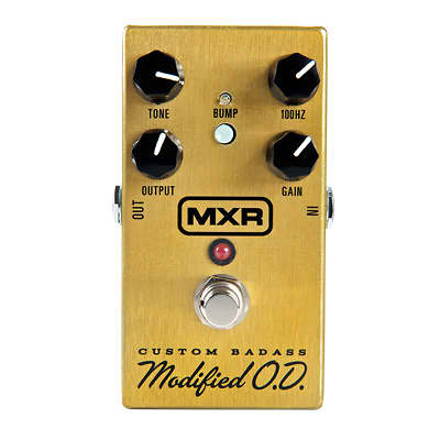 MXR M77 Custom Modified Badass Overdrive Guitar Effects Pedal M-77