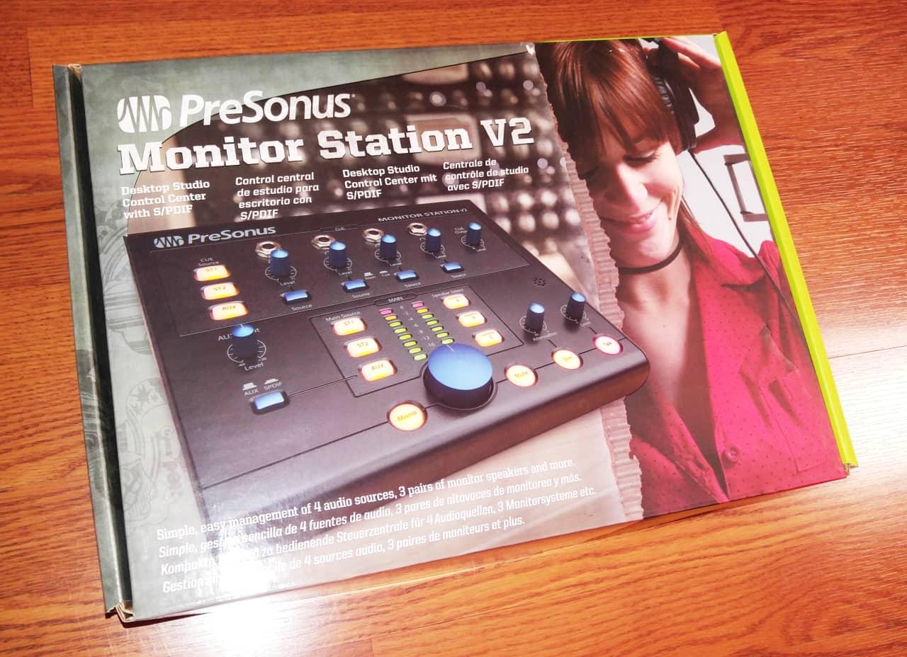 Presonus Monitor Station V2 Mint In Box Jg Studios Reverb S Pdif