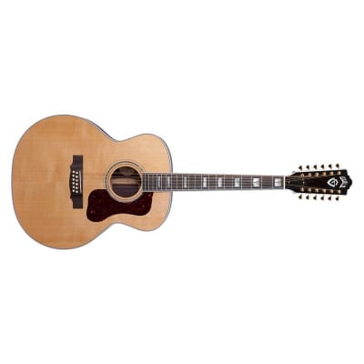 Guild USA F-512 12 String Jumbo Acoustic, Natural for sale