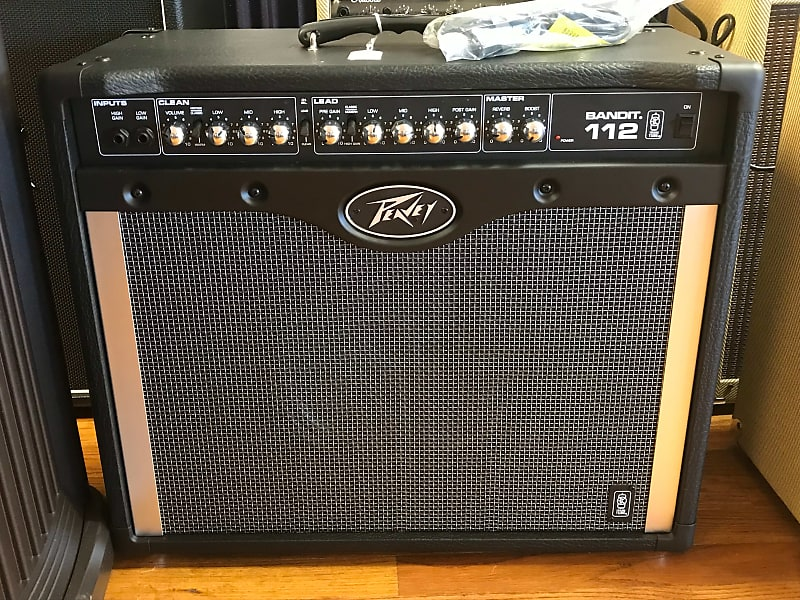 peavey bandit 112 80w 1x12 guitar combo amp g and a music reverb. Black Bedroom Furniture Sets. Home Design Ideas