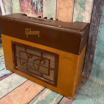 Vintage Original Gibson Les Paul GA 40 Amplifier  1953 Two tone Amp