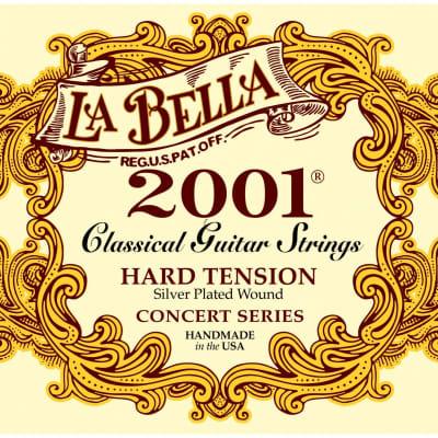 La Bella 2001 Concert Series Hard Tension Classical Guitar Strings
