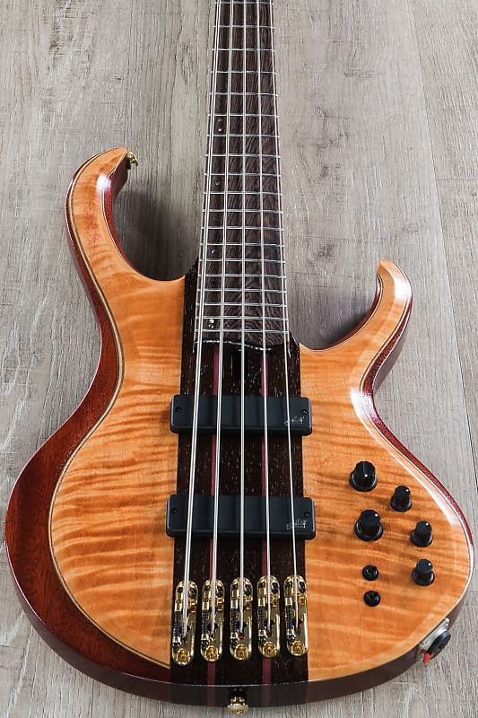 ibanez btb1905 premium 5 string active bass florid natural reverb. Black Bedroom Furniture Sets. Home Design Ideas