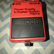 Boss PSM-5 Power Supply and Master Switch 200? Red and Black