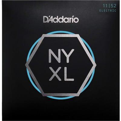 D'Addario NYXL1152 Nickel Wound Electric Guitar Strings Medium Top / Heavy Bottom 11-52