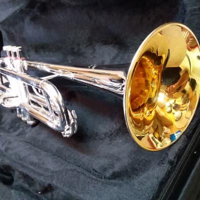 Getzen Capri Vintage c1969-70 Silver Trumpet In Nearly Mint Condition