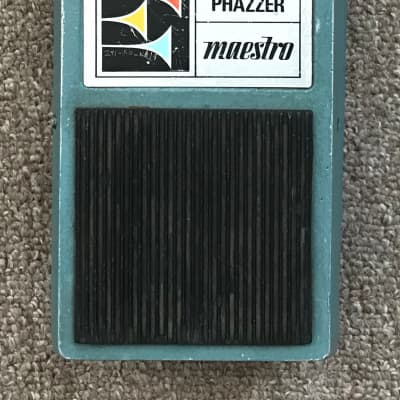 Maestro Fuzz Phazzer- FP-1 (1971) Blue/Green for sale
