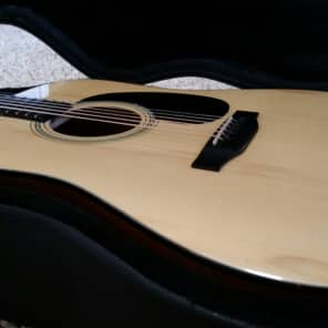 Recording King RD-316 Solid AAA Adirondack Acoustic Guitar Natural 2013