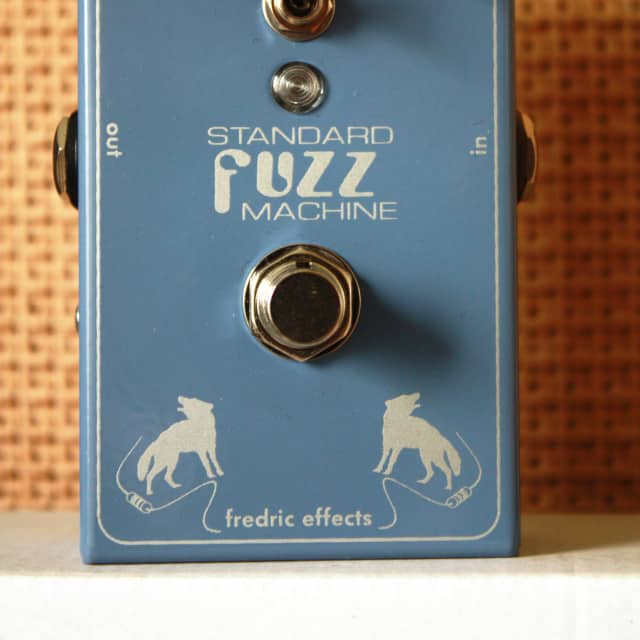Fredric Effects Standard Fuzz Machine Guitar Effects Pedal image